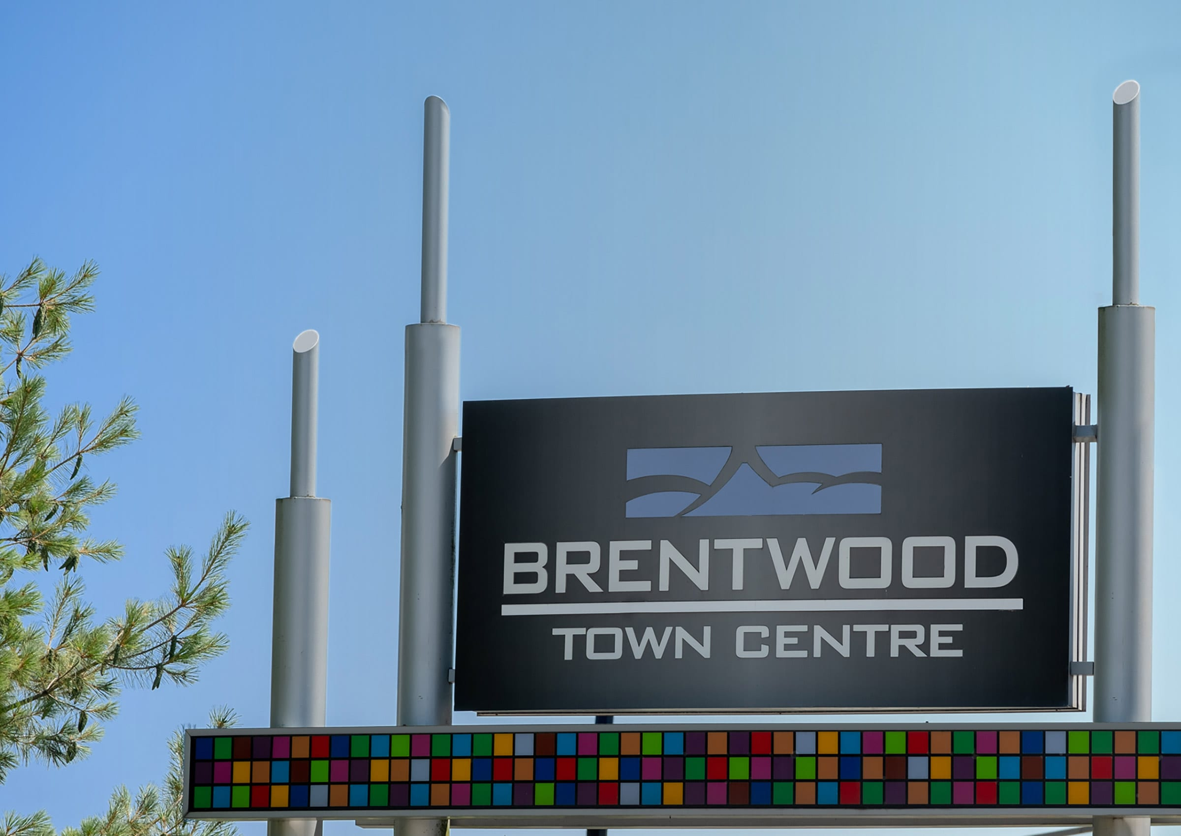 Signage for Brentwood Town Centre